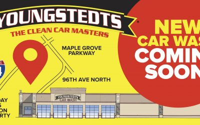 New Maple Grove Car Wash – Coming Fall 2018!
