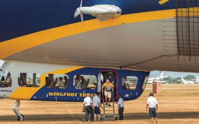 Youngstedts celebrates 50 Years in business with Goodyear Blimp